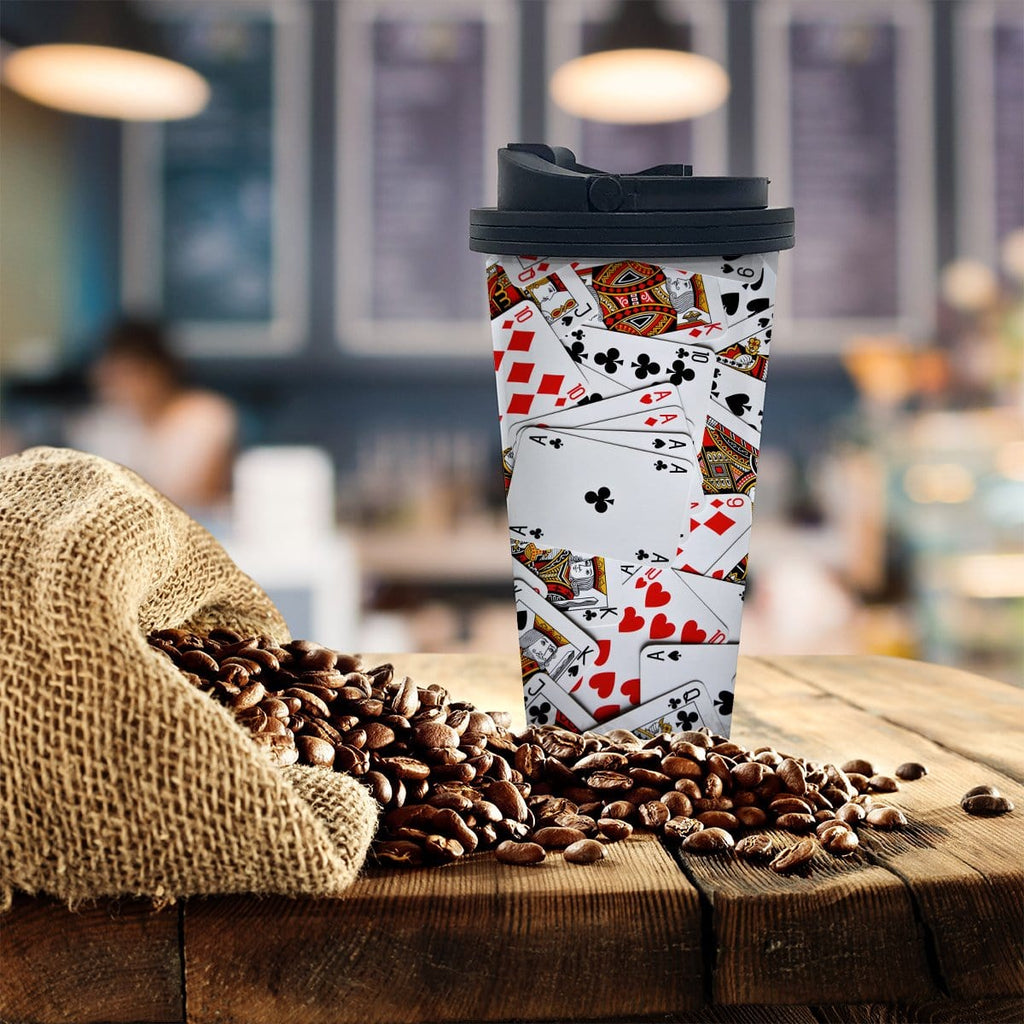 Cards Coffee Tumbler - Potter's Printing