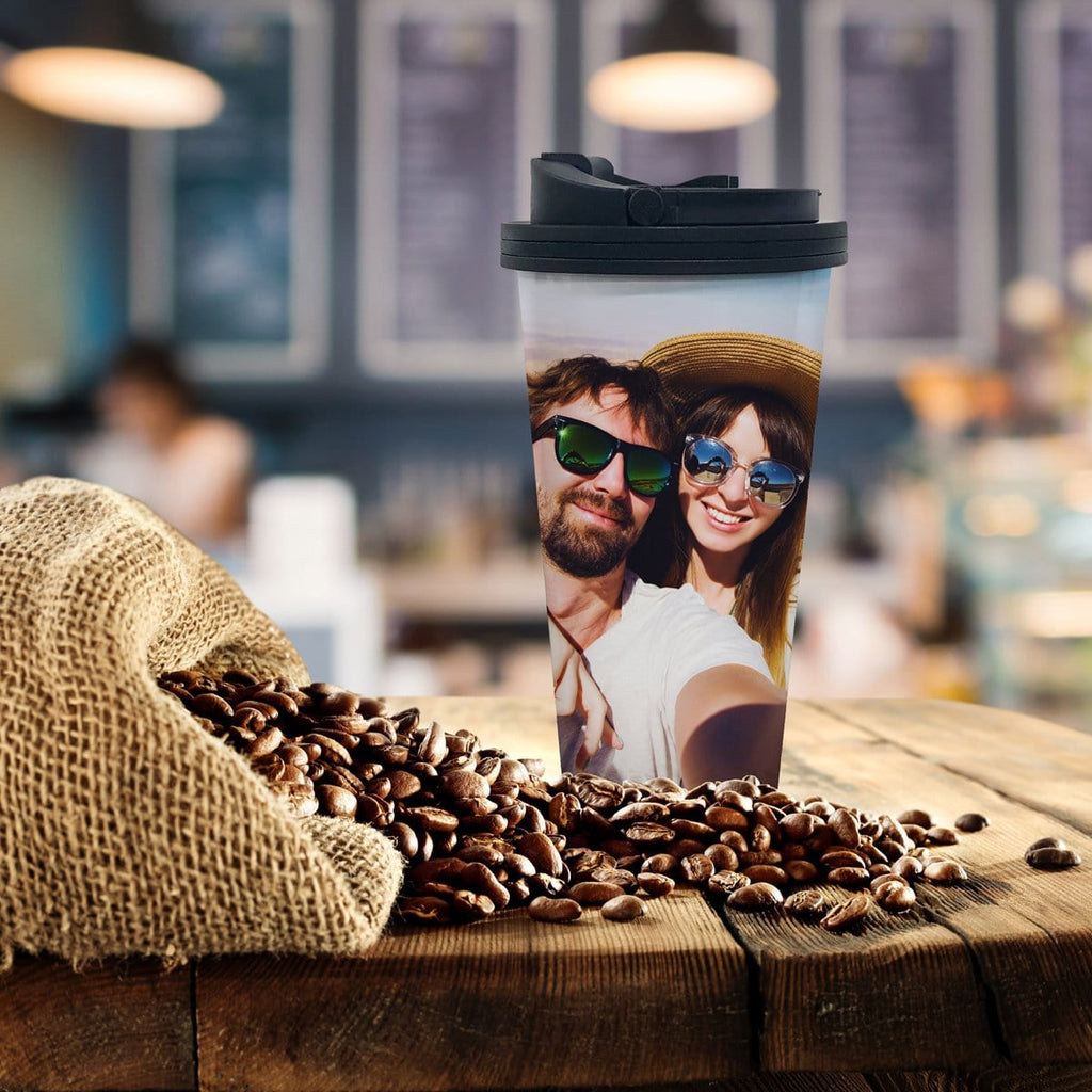 Custom Photo Coffee Tumbler - Potter's Printing