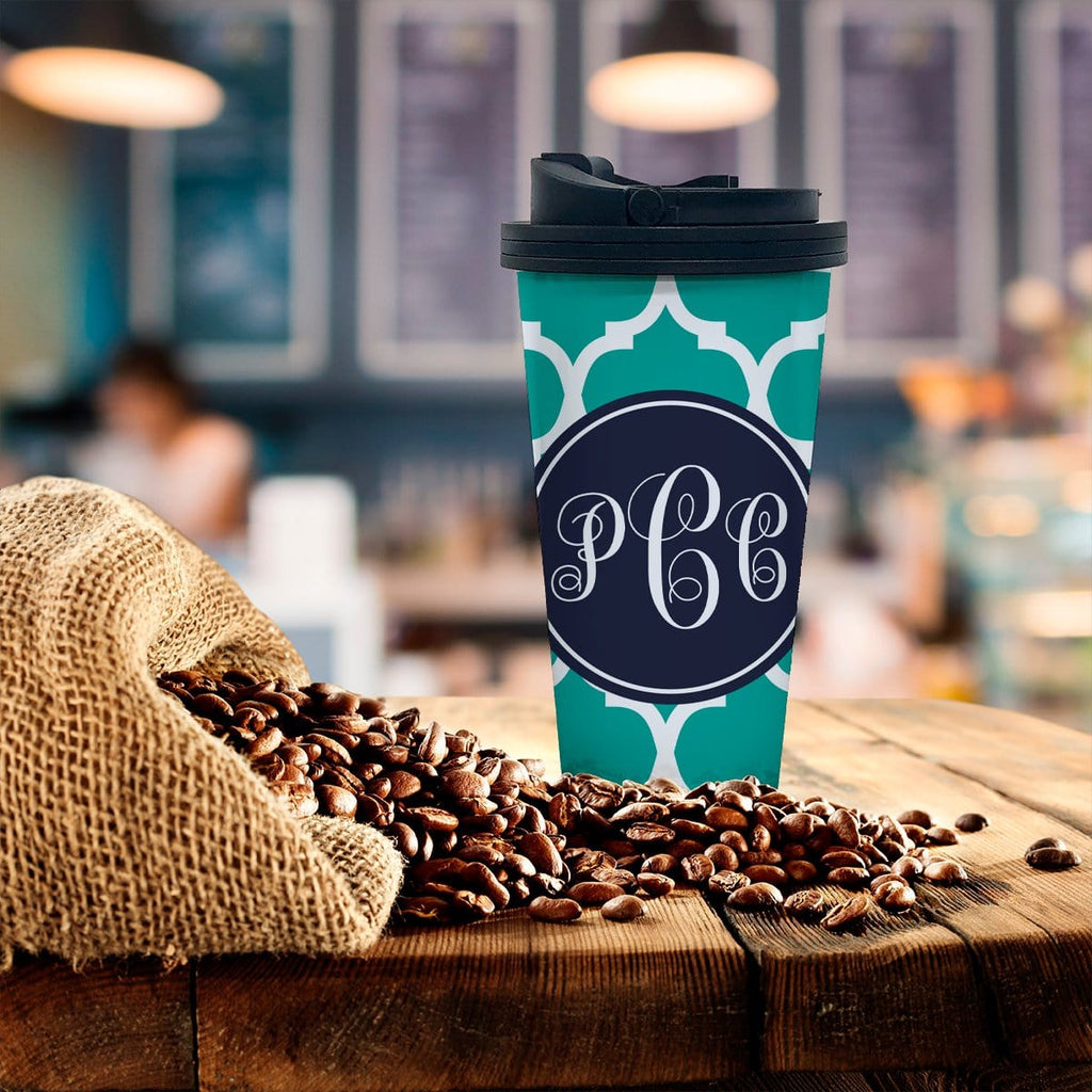 Personalized Moroccan Coffee Tumbler