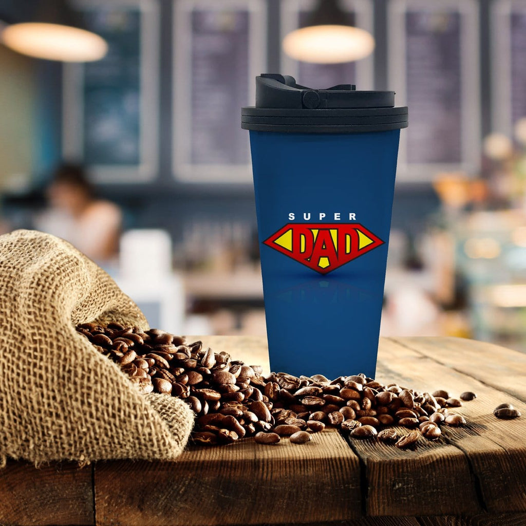 Super Dad Coffee Tumbler - Potter's Printing