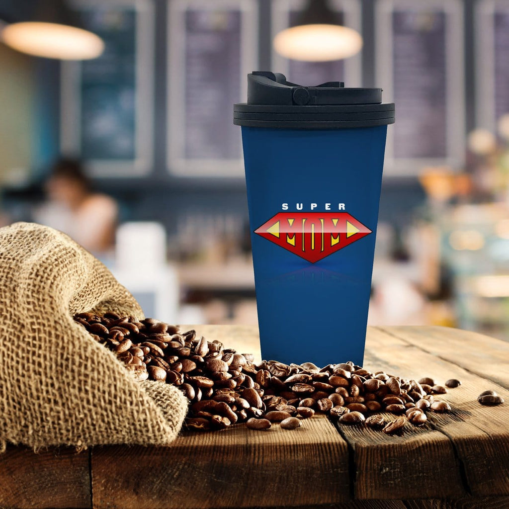 Super Mom Coffee Tumbler - Potter's Printing