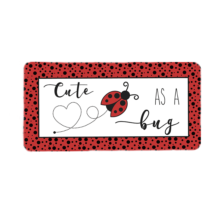 Cute As A Bug Wreath Sign