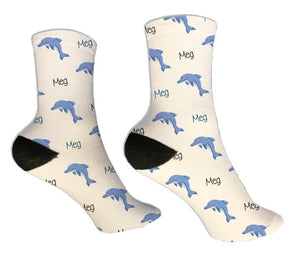 Dolphin Personalized Socks - Potter's Printing
