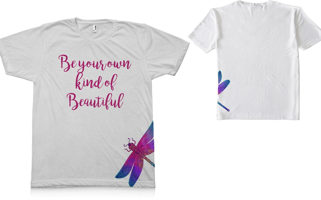 Be Your Own Kind of Beautiful Graphic TEE Shirt - Potter's Printing
