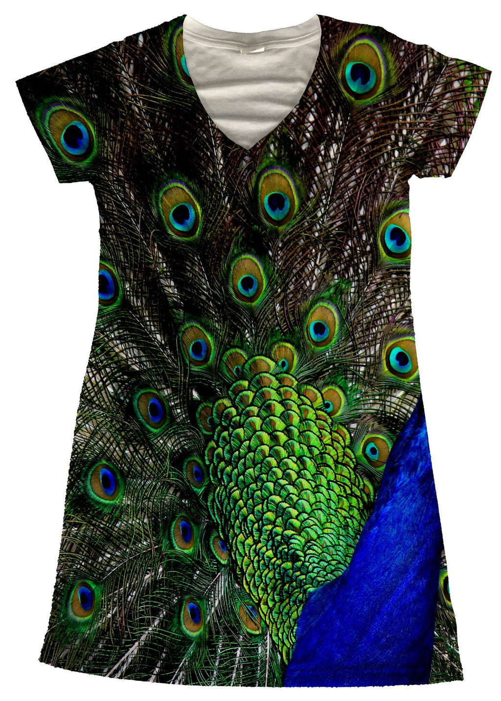 Peacock Dress - Potter's Printing