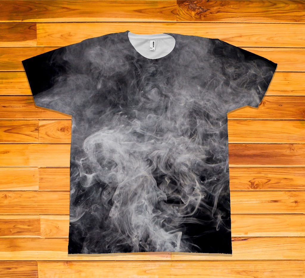 Smoke Short Sleeve TEE Shirt - Potter's Printing