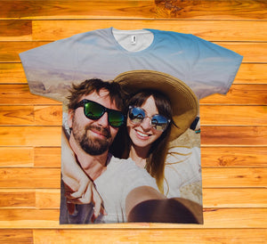 Custom Photo Short Sleeve TEE Shirt - Potter's Printing