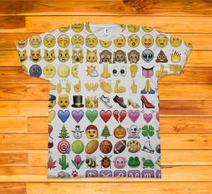 Emoji Short Sleeve TEE Shirt - Potter's Printing
