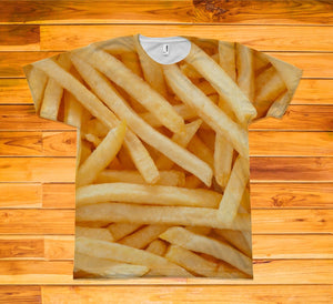 French Fries Short Sleeve TEE Shirt - Potter's Printing