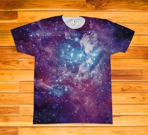 Galaxy Short Sleeve TEE Shirt - Potter's Printing