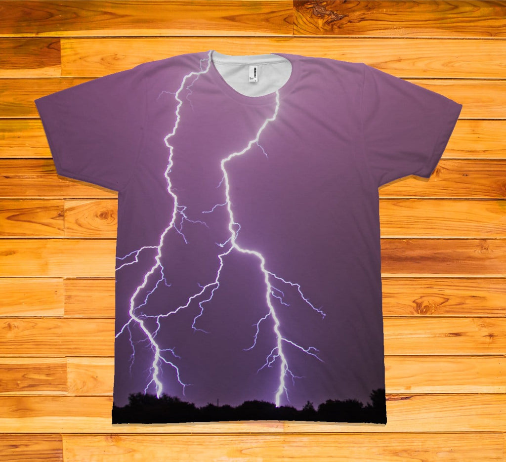 Lightning Short Sleeve TEE Shirt - Potter's Printing