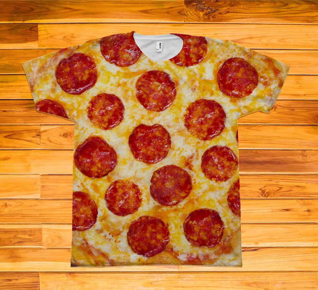 Pizza Short Sleeve TEE Shirt - Potter's Printing