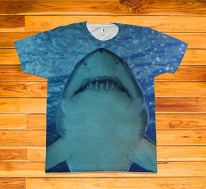 Shark Short Sleeve TEE Shirt - Potter's Printing
