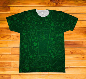 St. Patrick's Day Short Sleeve TEE Shirt - Potter's Printing