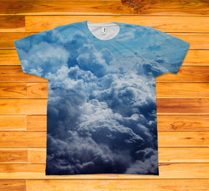 Clouds Short Sleeve TEE Shirt - Potter's Printing