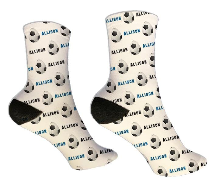Soccer Personalized Easter Socks - Potter's Printing