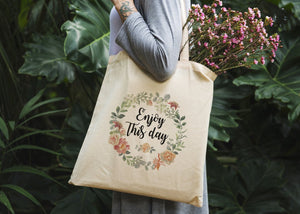 Enjoy This Day Tote Bag - Potter's Printing