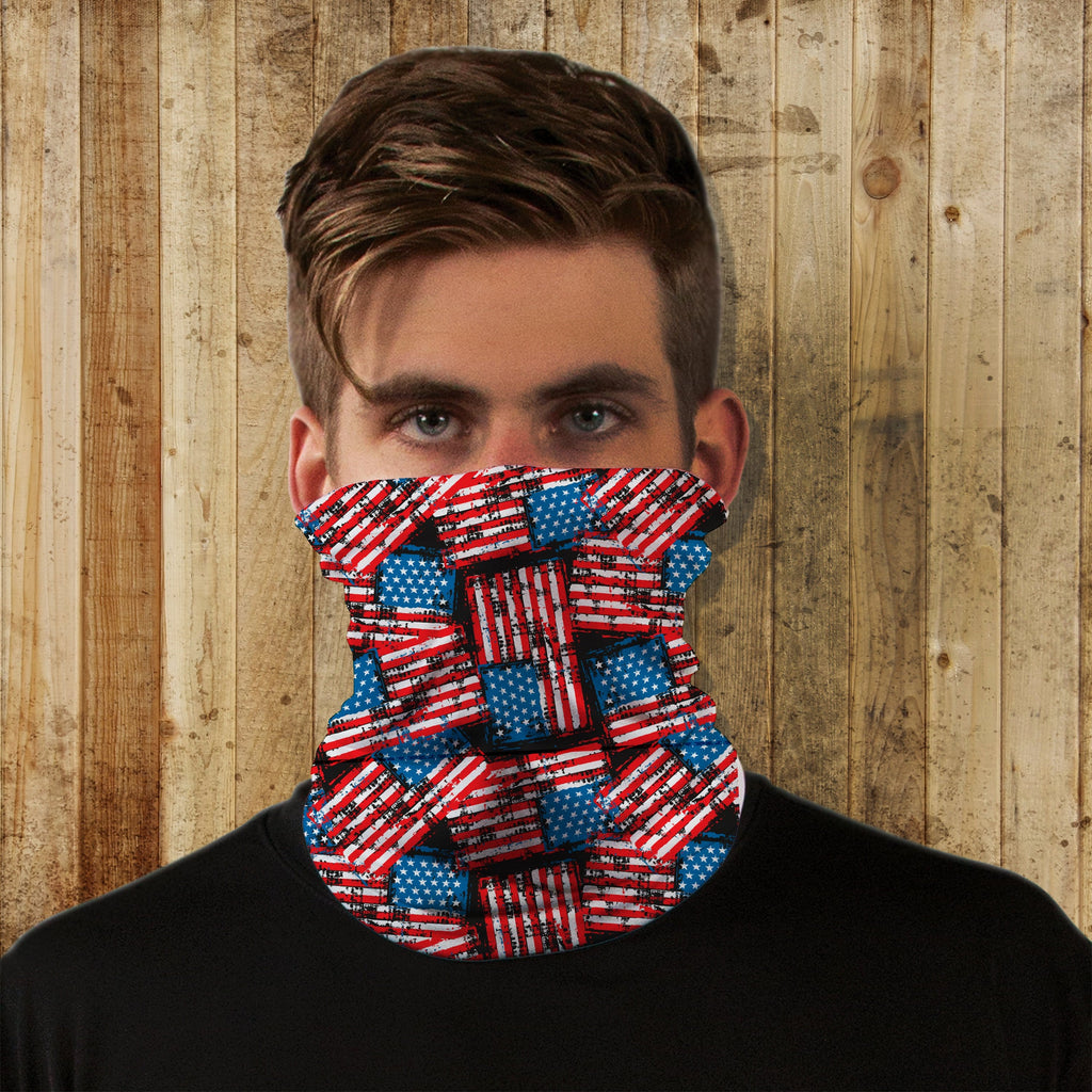 Flag Neck Gaiter - Potter's Printing