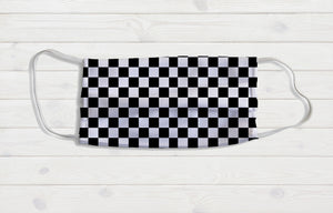 Checkered Face Mask - Potter's Printing