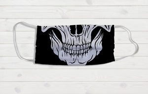 Skull Mouth Face Mask - Potter's Printing