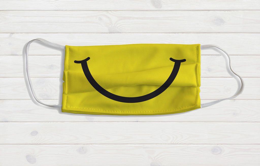 Smiley Face Mask - Potter's Printing