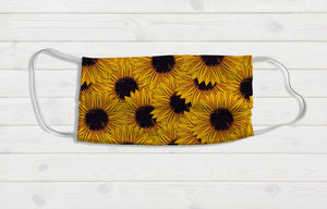 Sunflower Face Mask - Potter's Printing