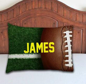 Football Personalized Pillowcase - Potter's Printing