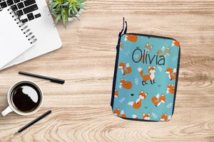 Personalized Fox Drawing Set