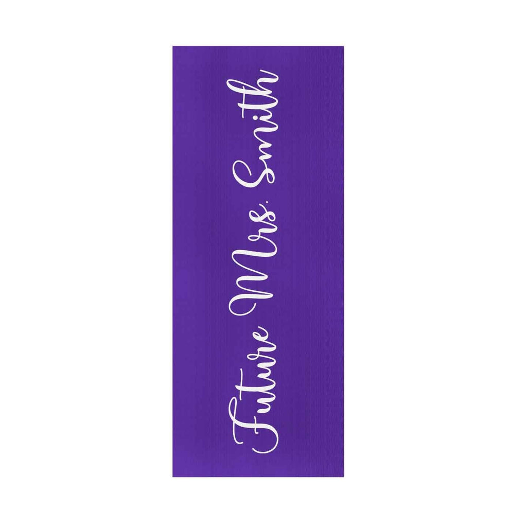 "Future ""Mrs"" Yoga Mat - Potter's Printing"
