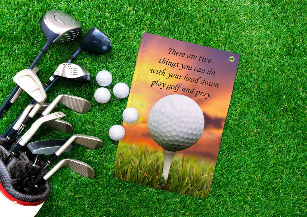 Golf and Pray Golf Towel