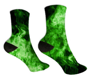 Green Smoke Socks - Potter's Printing