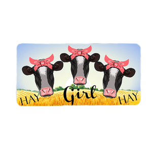 Hay Girl Hay  Wreath Sign