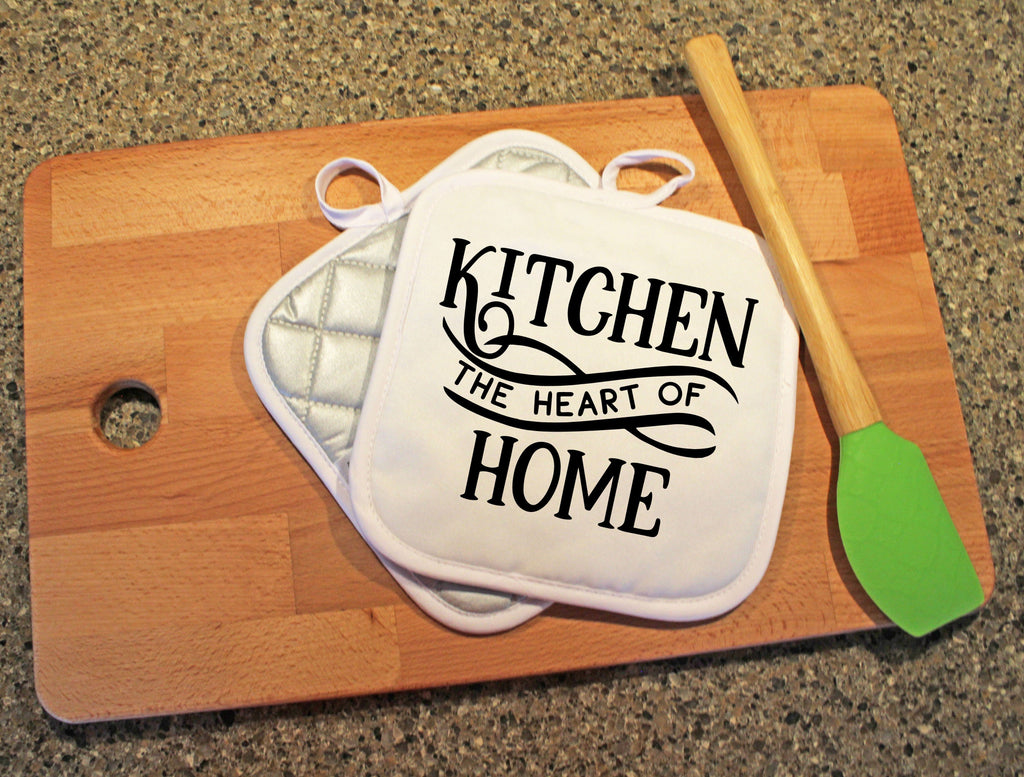 Kitchen: The Heart of Home Pot Holder - Potter's Printing