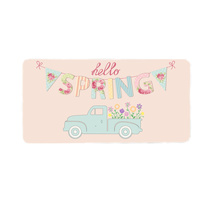 Hello Spring Wreath Sign