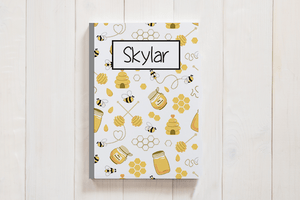 Personalized Honey Bee Journal