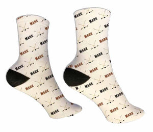 Ice Hockey Personalized Socks - Potter's Printing