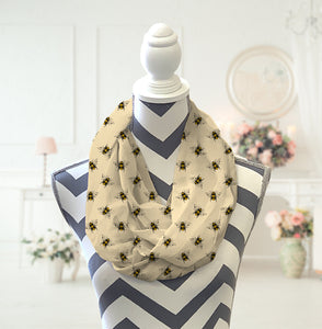 Bees Infinity Scarf - Potter's Printing