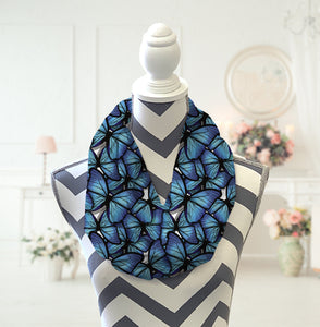 Butterfly Infinity Scarf - Potter's Printing