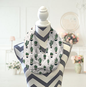 Cactus Infinity Scarf - Potter's Printing