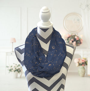 Constellation Infinity Scarf - Potter's Printing