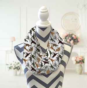 Dinosaurs Infinity Scarf - Potter's Printing