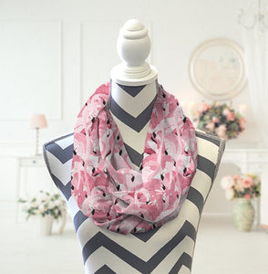 Flamingo Infinity Scarf - Potter's Printing