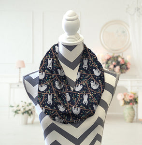 Sloth Infinity Scarf - Potter's Printing