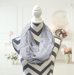 St Michael's Prayer Infinity Scarf - Potter's Printing