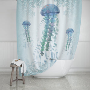 Jellyfish Shower Curtain - Potter's Printing