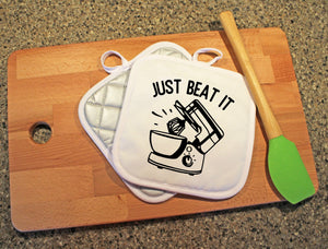 Just Beat It Pot Holder - Potter's Printing