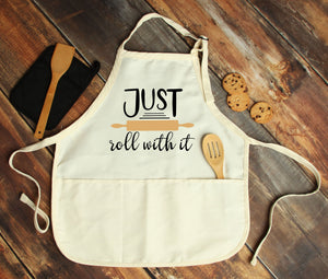 Just Roll With it Personalized Apron - Potter's Printing