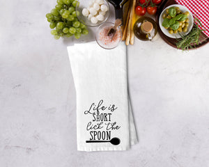 Lick the Spoon Kitchen Towel - Potter's Printing