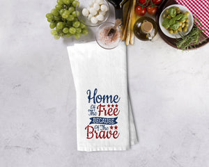 4th Of July Kitchen Towel - Potter's Printing