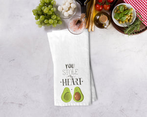 Avocado You Stole My Heart Kitchen Towel - Potter's Printing